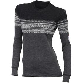 Aclima DesignWool Marius - T-shirt manches longues Femme - gris